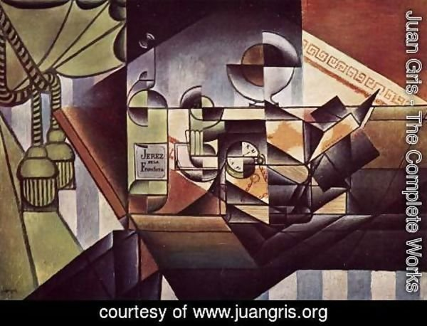 Juan Gris - The Watch
