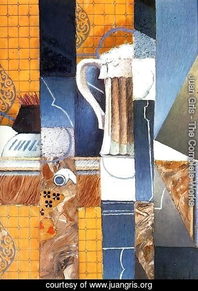 Juan Gris - Beer Glass and Cards