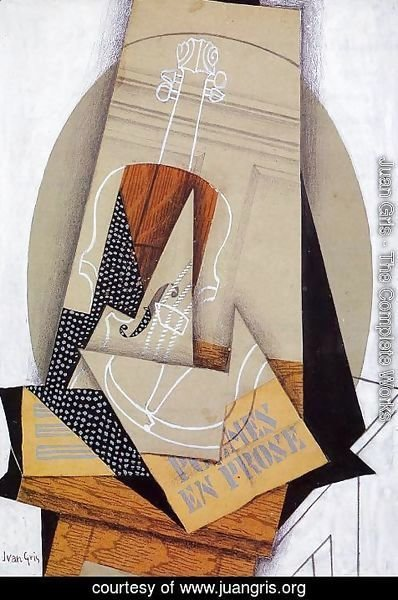 Juan Gris - Composition with Violin