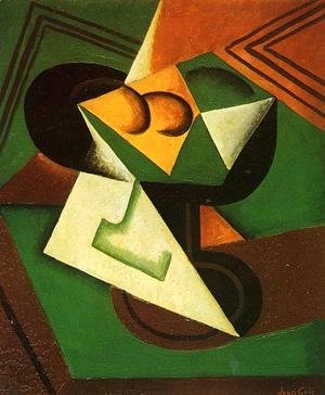 Juan Gris - Fruit Bowl and Fruit