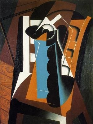 Juan Gris - Still Life on a Chair
