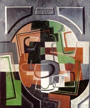 Juan Gris - Still Life on Plaque