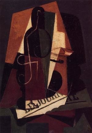 Juan Gris - Bottle and Glass