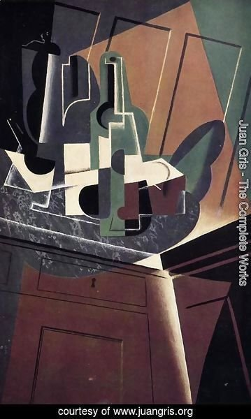 Juan Gris - The Sideboard