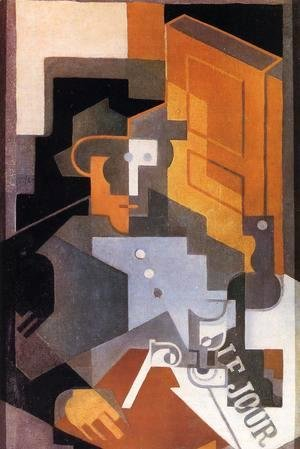 Juan Gris - Man from Touraine
