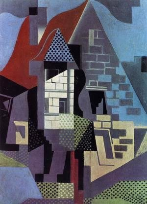 Juan Gris - Landscape at Beaulieu