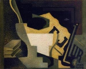 Juan Gris - Still Life with Newspaper I