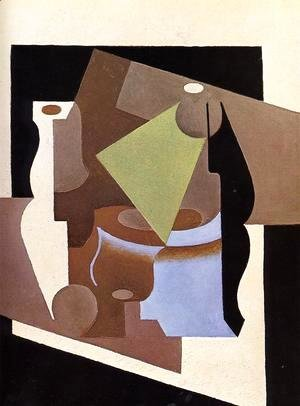 Juan Gris - Still Life with Lamp