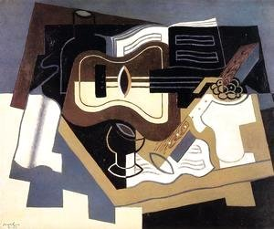 Juan Gris - Guitar with Clarinet