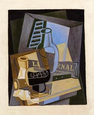 Juan Gris - Still Life in Front of the Wiindow