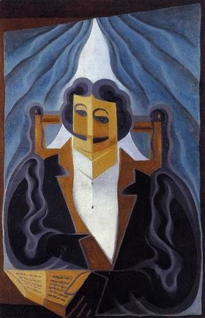 Juan Gris - Portrait of a Man