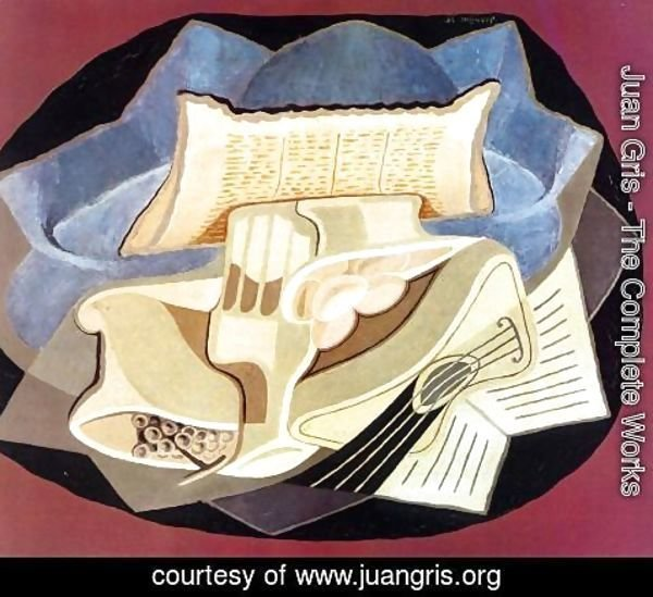 Juan Gris - The Blue Cloth