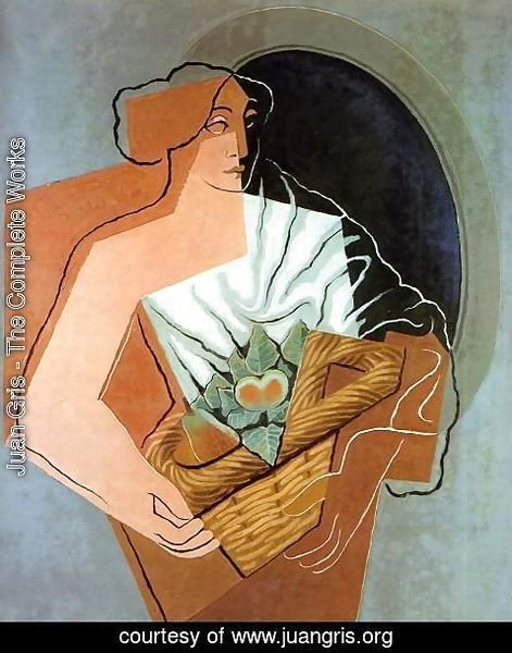Juan Gris - Woman With Basket