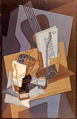 Juan Gris - The Book of Music