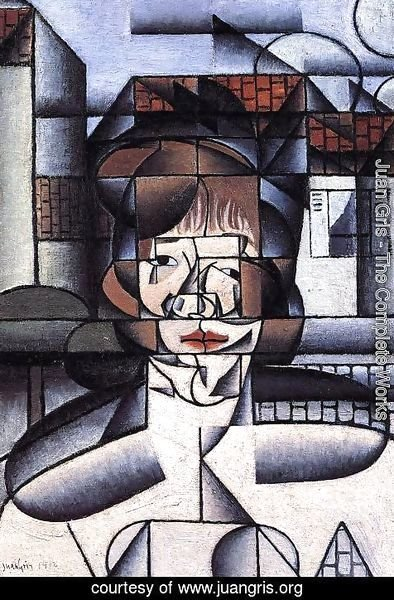 Juan Gris - Portrait of Germaine Raynal