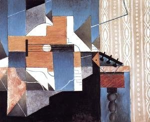 Juan Gris - Guitar on the Table