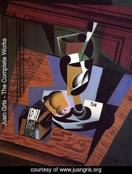 Juan Gris - The Packet of Tobacco
