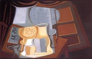 Juan Gris - The Table in Front of the Window