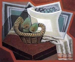 Juan Gris - The Basket of Pears