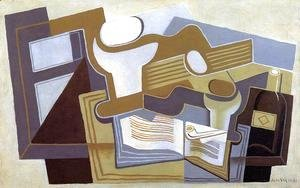Juan Gris - Guitar and Fruit Dish II