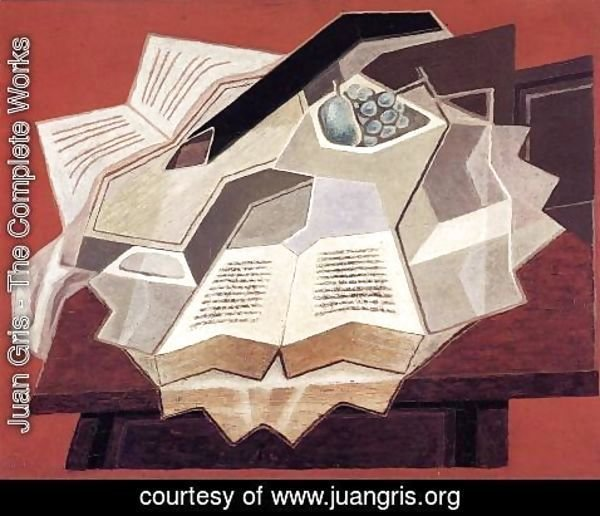 Juan Gris - The Open Book