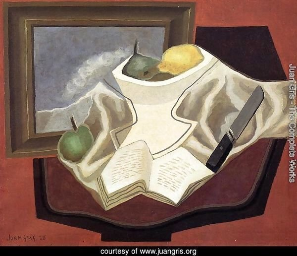 Juan Gris The Complete Works The Table In Front Of The