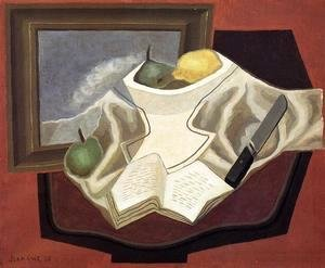 Juan Gris - The Table in Front of the Picture