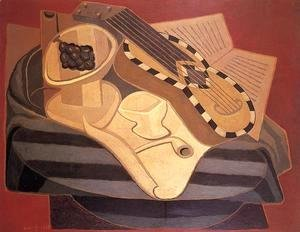 Juan Gris - The Guitar with Inlay