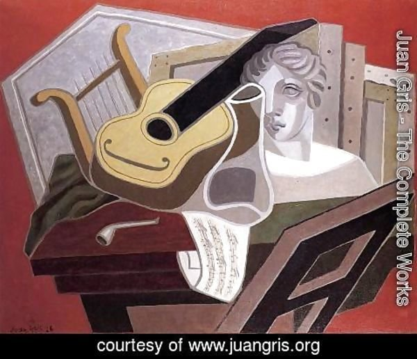 Juan Gris - The Musician's Table