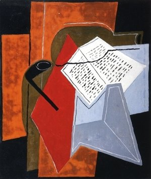 Juan Gris - Bowl and Book