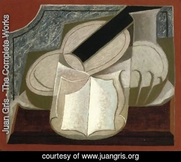 Juan Gris - Book and Guitar