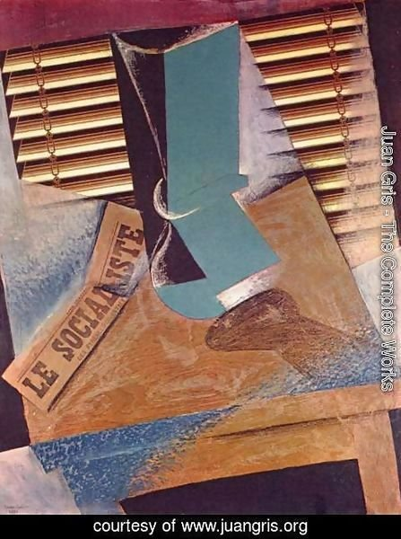 Juan Gris - The Sunblind
