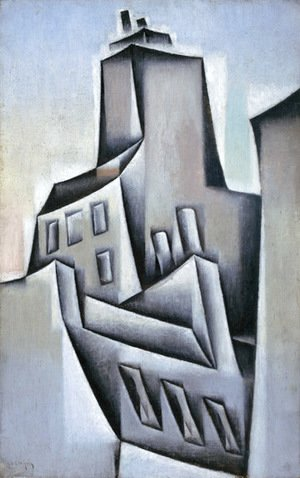 Juan Gris - Houses in Paris
