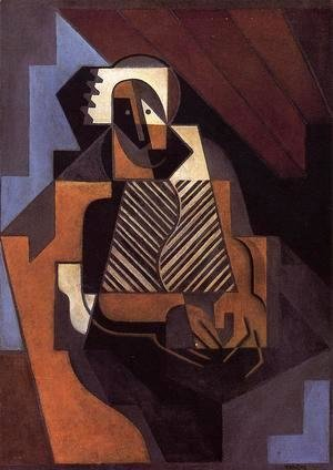 Juan Gris - Seated Peasant Woman 1918