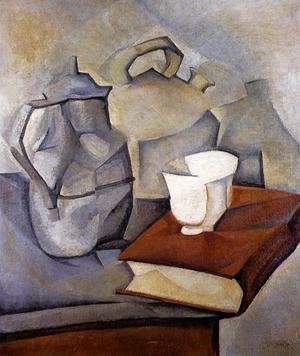 Juan Gris - Still Life with Book 1913