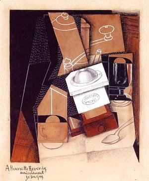 Juan Gris - The Cloud 2 1921
