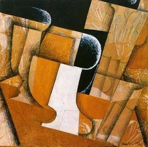 Juan Gris - The Flower on the Table 1925-1926