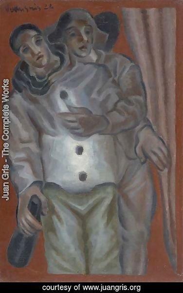 Juan Gris - The Complete Works - Arlequin et Pierrot - juangris.org