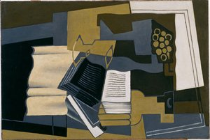 Juan Gris - Carafe and Book