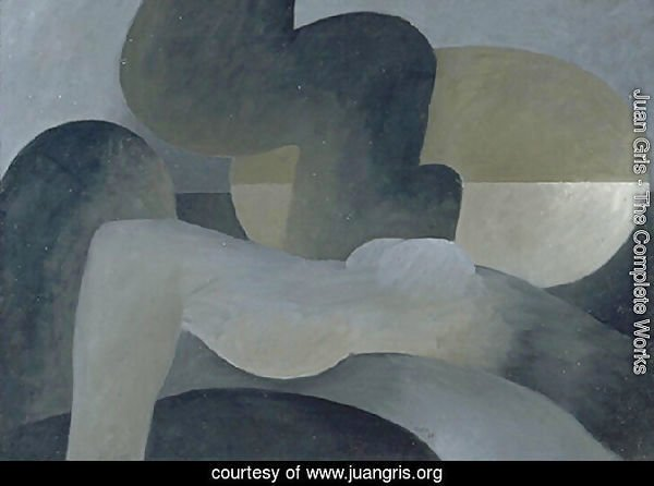 Large reclining nude