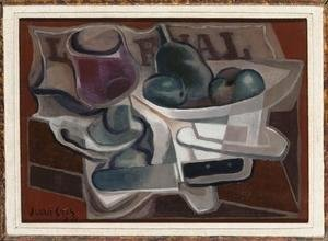 Juan Gris - Fruit Dish and Glass