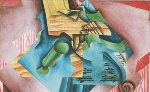 Juan Gris - Violine and glass