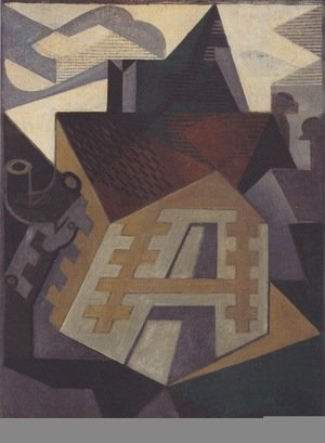 Juan Gris - Landscape at Beaulieu 2