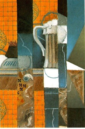 Juan Gris - Glass Of Beer And Playing Cards
