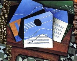 Juan Gris - Guitar On A Table