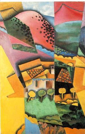 Juan Gris - Landscape At Ceret