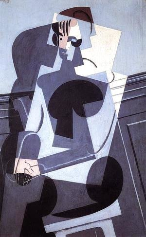 Portrait Of Josette Gris 1916