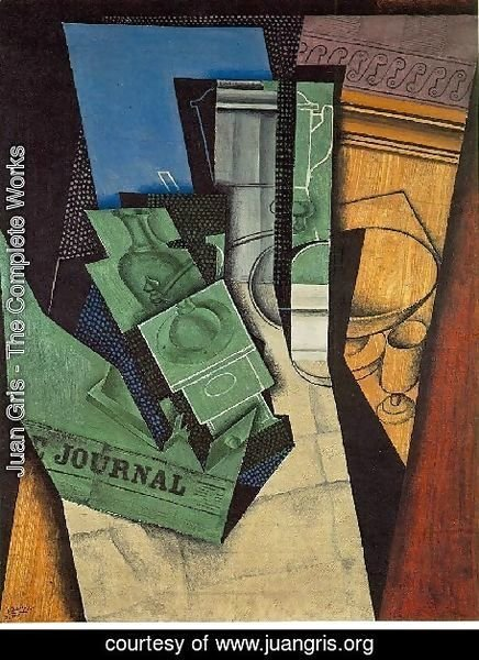 Juan Gris - The Breakfast