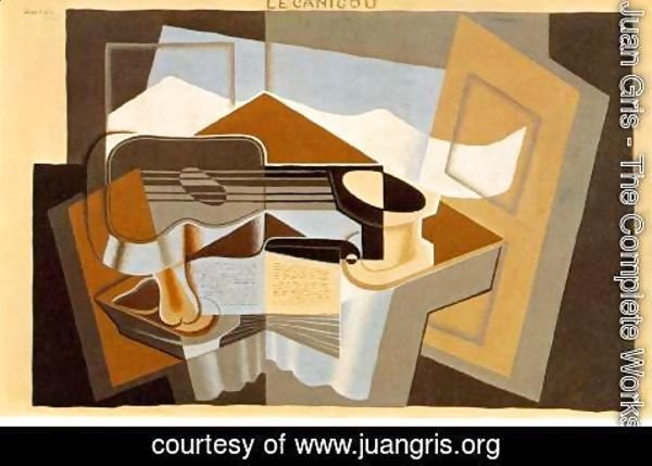 Juan Gris - The Mountain   Le Canigou