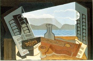 Juan Gris - The Open Window